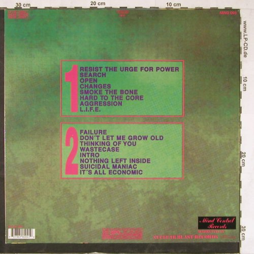 No Fraud: Same, Mind Control Rec.(MIND 003), D, 1991 - LP - E3979 - 9,00 Euro