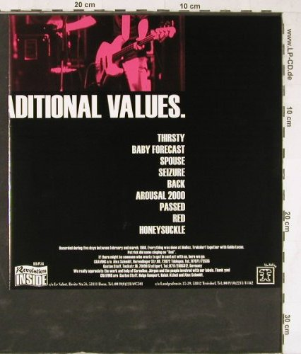Craving: Emphasis On Traditional Values, Revolution(RI#38), D,  - 10inch - E3980 - 7,50 Euro