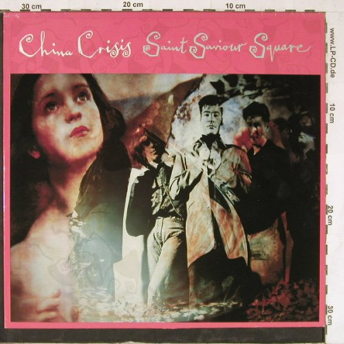 China Crisis: Saint Saviour Square*2+1, Virgin(612 080-213), D, 1989 - 12inch - E3983 - 2,50 Euro