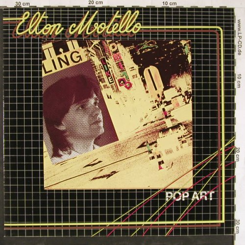Motello,Elton: Pop Art, WEA(WEA 58 158), D, 1980 - LP - E4315 - 9,00 Euro