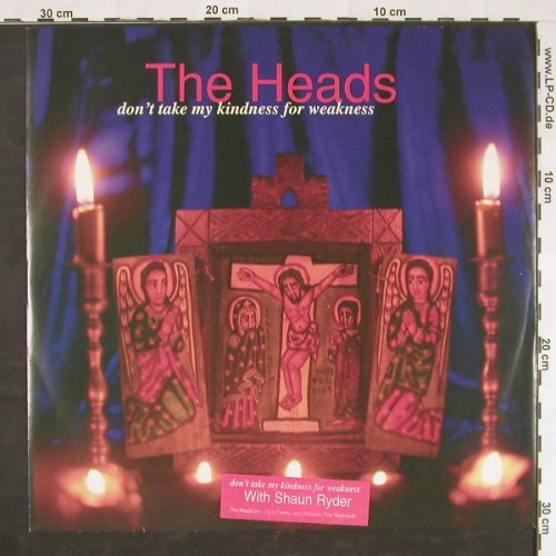Heads,The: Don't Take My kindness for weakness, MCA(MCST 48024), UK, 1996 - 12inch - E447 - 2,50 Euro