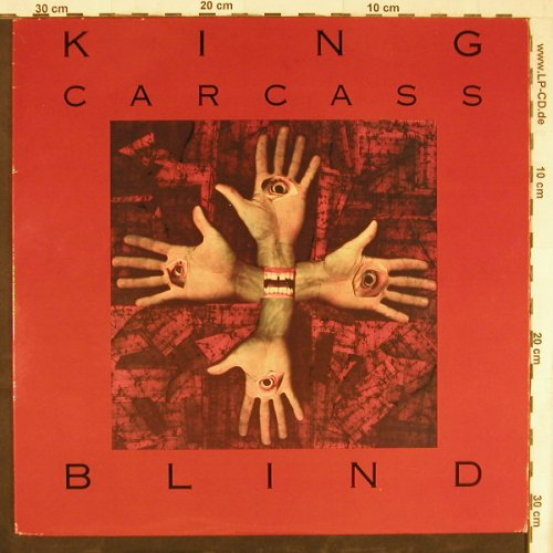 King Carcass: Blind, no.6(KAR005-1), CDN,  - LP - E4498 - 5,00 Euro