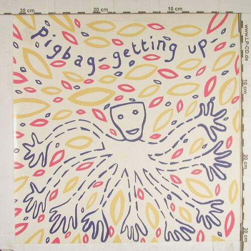 Pigbag: Getting Up+2, Y Rec.(Y 16), , 1982 - 12inch - E54 - 4,00 Euro