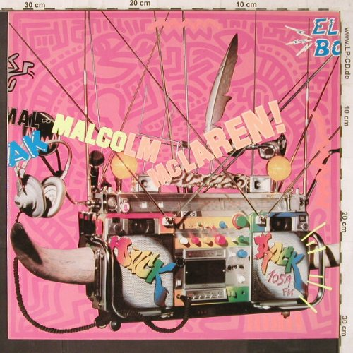 Mc Laren,Malcom: Duck Rock, Charisma(810 432-1), D, 1983 - LP - E6559 - 9,00 Euro