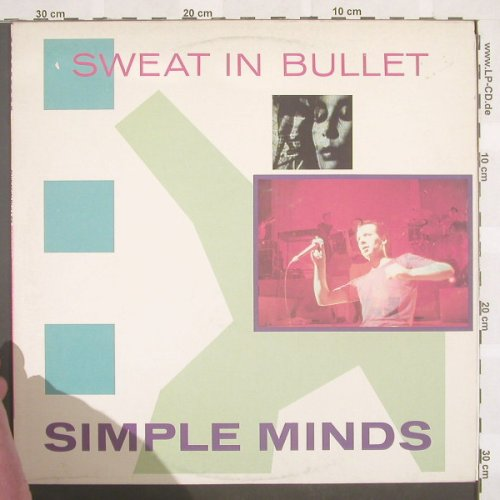 Simple Minds: Sweat In Bullet+3, Virgin(VS 451-12), UK, 1981 - 12inch - E6784 - 5,00 Euro