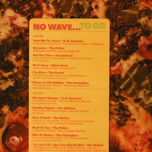 V.A.No Wave...: To Go,vg+/vg-,PicDisc,well playable, AM(PR 4738), US, 1978 - PLP - E6944 - 30,00 Euro
