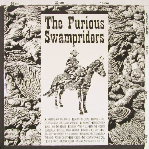 V.A.Furious Swampriders: The Perc presents, Foc, StrangeW.(11064-15/WAY 14), D, 1990 - 2LP - E70 - 9,00 Euro