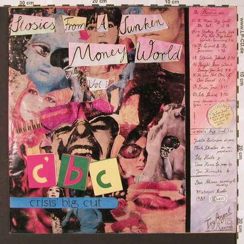 Crisis Big Cut: Stosics From A Sunken Money World, Try Angel Rec.(), D, 1989 - LP - E7351 - 20,00 Euro