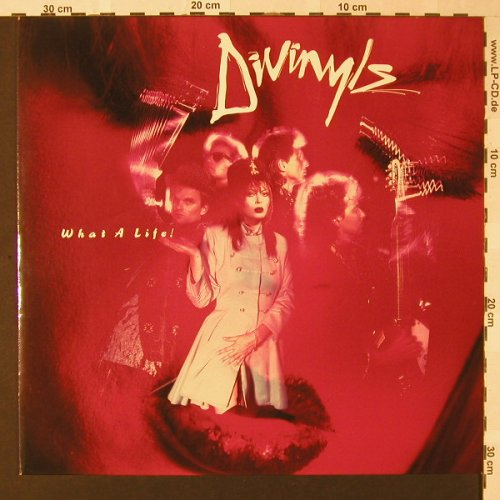 Divinyls: What A Life!, Chrysalis(207 489-620), D, 1985 - LP - E8373 - 5,00 Euro