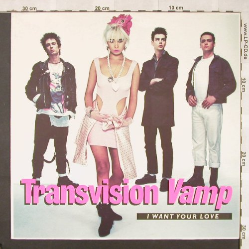 Transvision Vamp: I Want Your Love+2, MCA(257 922-0), D, 1988 - 12inch - E8467 - 2,50 Euro
