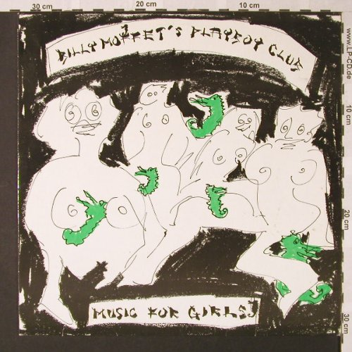 Moffet's Playboy Club,Billy: Music For Girls, Pinpoint(57291162 AK), D, 1989 - LP - E8471 - 7,50 Euro
