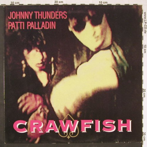 Thunders,Johnny & P.Paladin: Crawfish*2/Tie Me Up, Jungle(JUNG 23T), UK, 1985 - 12inch - E905 - 5,00 Euro