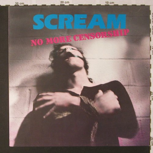 Scream: No More Censorship, Torso(33090), NL, 1988 - LP - E9170 - 9,00 Euro