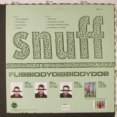 Snuff: Flibbiddydibbiddydob, Workers Playtime(Play 11T), UK, 1989 - LP - E9173 - 12,50 Euro