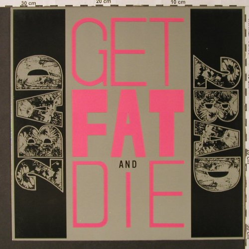 2 Bad: Get Fat and Die, X-Mist Rec.(XM 013), D,  - LP - E9254 - 9,00 Euro