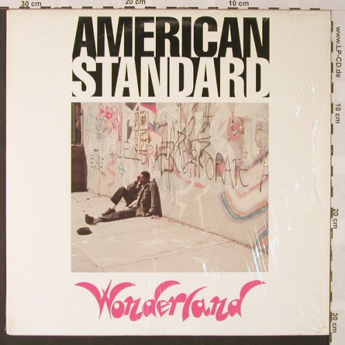 American Standard: Wonderland, Power House(002-1), US, 1989 - LP - E9331 - 12,50 Euro