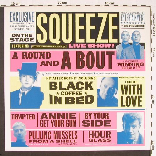Squeeze: A Round A Bout, IRS(24 1056 1), EEC, 1990 - LP - E9831 - 6,00 Euro