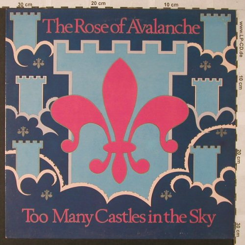 Rose Of Avalanche: Too Many Castles In The Sky+2, Fire Records(Blaze 9), UK, 1986 - 12inch - E9914 - 5,00 Euro