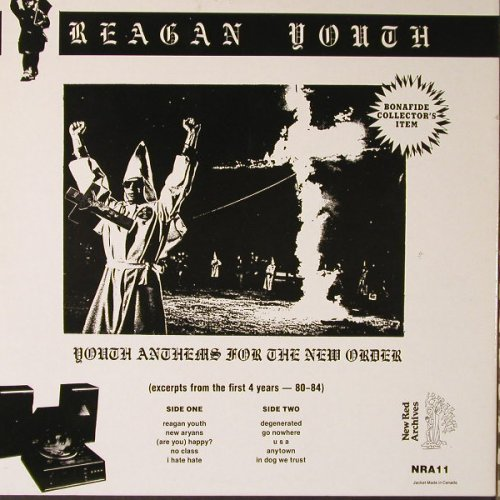 Reagan Youth: Vol.1, Foc, Red Vinyl, New Red Archives(NRA 11), US, 1990 - LP - F1161 - 17,50 Euro