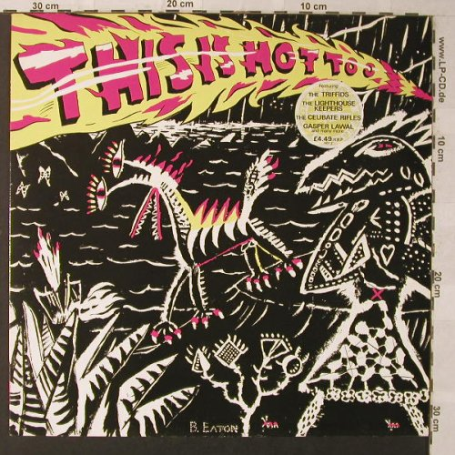 V.A.This Is Hot Too: 12 Tr., HOT(2), UK, 1986 - LP - F1231 - 7,50 Euro