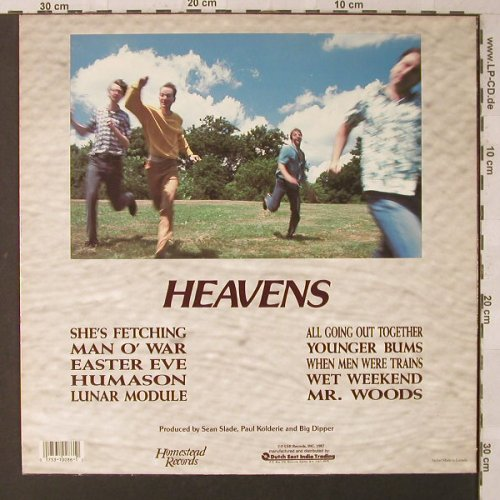 Big Dipper: Heavens, Homestead(HMS086), US, 1987 - LP - F1615 - 7,50 Euro