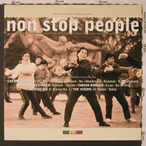 Kastrierte Philosophen: pres.Non Stop People, Strange Ways(way 145), D, 1996 - LP - F1997 - 6,00 Euro