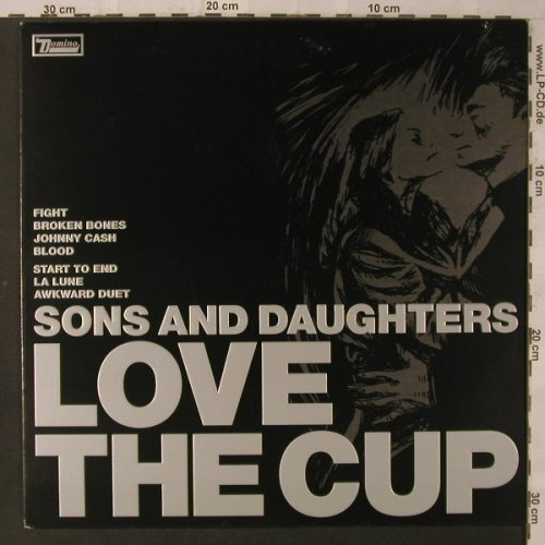 Sons And Daughters: Love the Cup, Domino(WIGLP145), EU, 2004 - LP - F2347 - 11,50 Euro