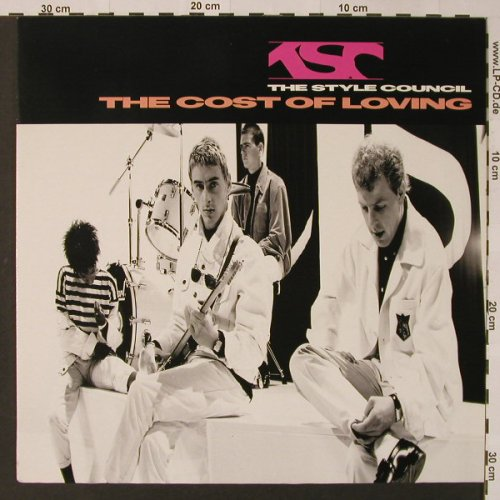 Style Council: The Cost Of Loving, Polydor(831 443-1), D, 1987 - LP - F2964 - 7,50 Euro