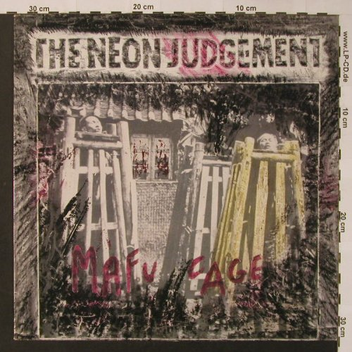 Neon Judgment: The Mafu Cage, Play It Again Sam(Bias 28), B, 1986 - LP - F3249 - 7,50 Euro