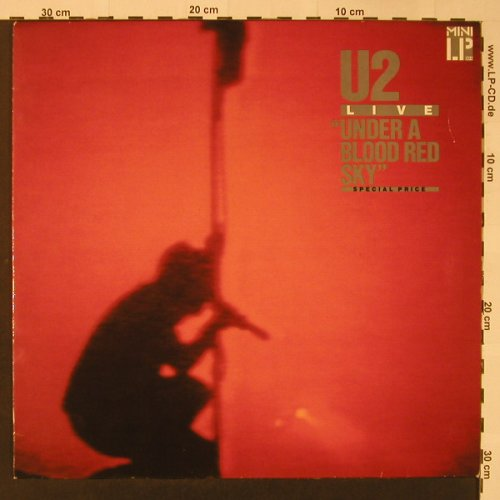 U2: Under A Bloodred Sky-Live, Island(205 904-270), D, 1983 - LP - F3275 - 5,00 Euro