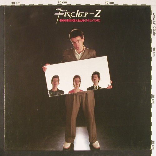 Fischer-Z: Gong Red For A Salad (UA Years), EMI(7 941321), EEC, 1990 - LP - F358 - 5,50 Euro