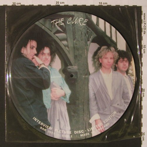 Cure: Interview Disc, Lim.Ed, (BAK 2011), UK,  - PLP - F4141 - 7,50 Euro