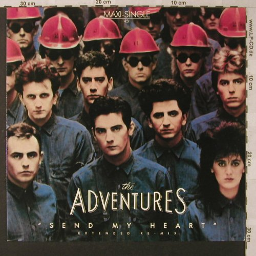 Adventures: Send My Heart*2, ext.remix+2, Chrysalis(601 577-213), D, 1984 - 12inch - F4593 - 2,50 Euro