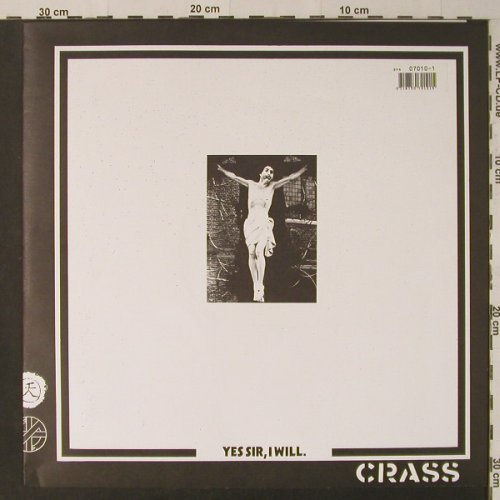 Crass: Yes Sir I Will, Foc, Crass Rec.(121984-2), UK, 1984 - LP - F4840 - 12,50 Euro