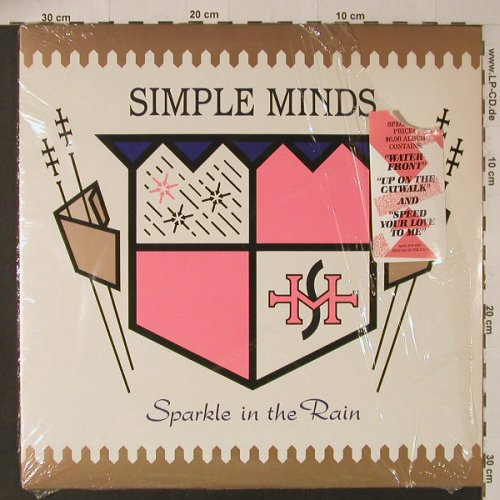 Simple Minds: Sparkle In The Rain, co, AM(SP-6-4981), US, 1983 - LP - F4924 - 6,00 Euro