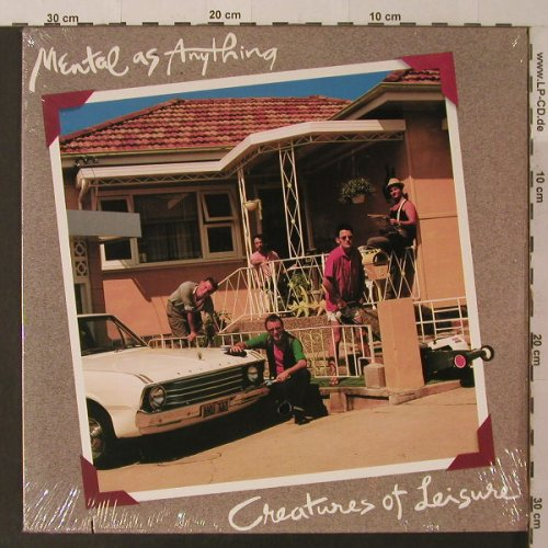 Mental As Anything: Creatures Of Leisure, FS-New, co, AM(SP-4946), US, 1983 - LP - F5260 - 5,00 Euro