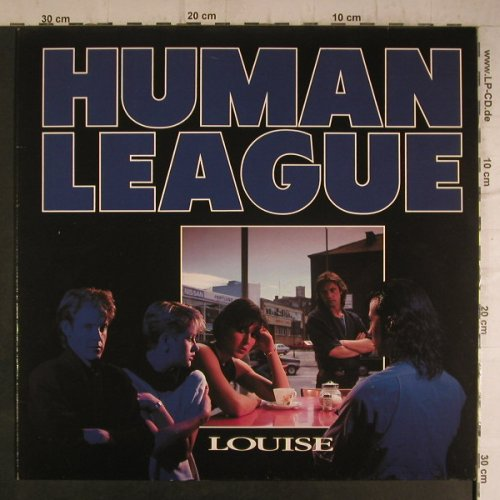 Human League: Louise / The Sign(ext.Re-mix), Virgin(601 502-213), D, 1984 - 12inch - F7074 - 4,00 Euro