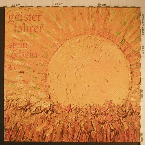 Geisterfahrer: Stein & Bein, What's So Funny About...(SF 71), D, 1987 - LP - F7390 - 7,50 Euro