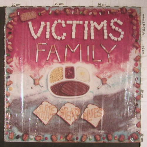 Victims Family: White Bread Blues, Mordam(K001-128), D, 1990 - LP - F8037 - 7,50 Euro