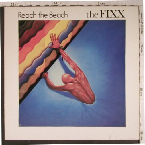 Fixx: Reach The Beach, MCA(205 479-320), D, 1983 - LP - F8282 - 4,00 Euro