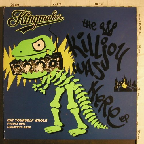 Kingmaker: The Killjoy was here EP, 3 Tr., Chrysalis(3238346), UK,m-/vg+, 1992 - 12inch - F8708 - 4,00 Euro