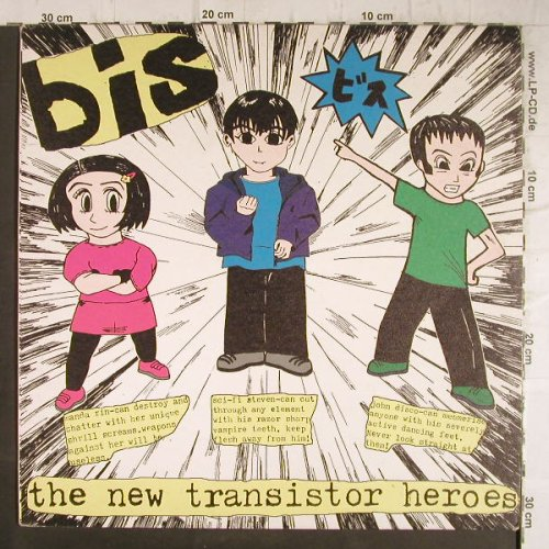 BIS: The New Transistor Heroes, vg+/m-, Wiiija(WIJLP 1064), UK, 1997 - LP - F8736 - 7,50 Euro