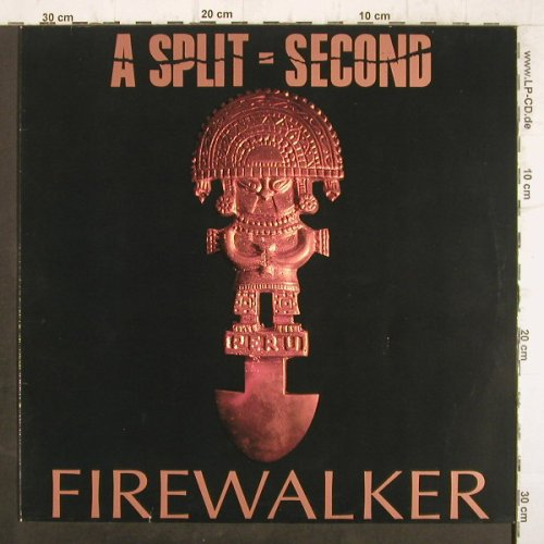 A Split Second: Firewalker+2, Animalized(050-03195), D, 1990 - 12inch - F8883 - 4,00 Euro