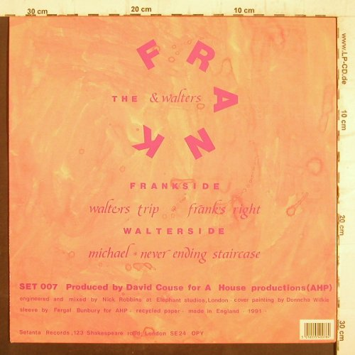 Frank and Walters: Walters Trip +3, Setana Rec.(SET807), UK, 1991 - 12inch - F8891 - 5,00 Euro