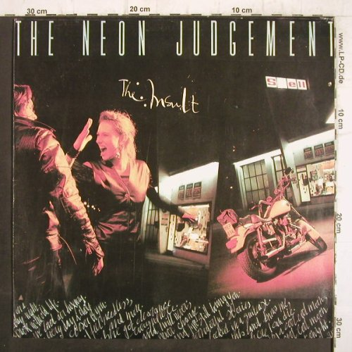 Neon Judgment: The Insault, play It Again Sam/Globus(210033-1311), CZ, 1990 - LP - F8898 - 7,50 Euro