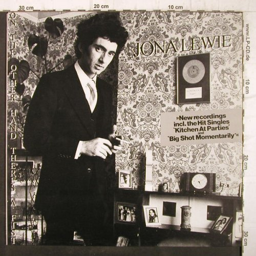 Lewie,Jona: On The Other Hand There's A Fist, Stiff(6.24449 AO), D, 1980 - LP - F9051 - 4,00 Euro