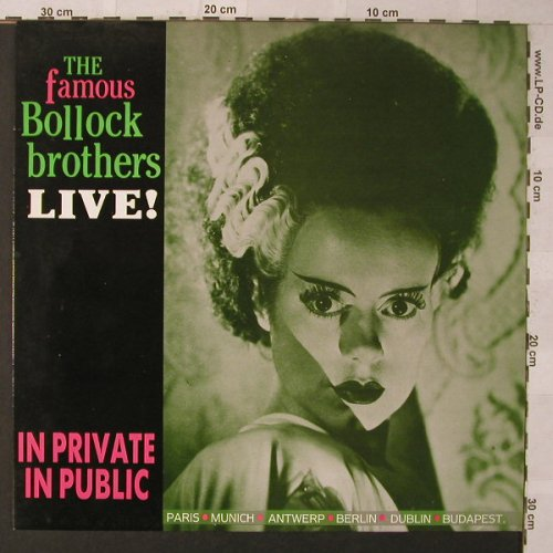 Bollock Brothers: In Private In Public, Charly(BOLL 104), EEC, 1986 - LP - F926 - 5,50 Euro