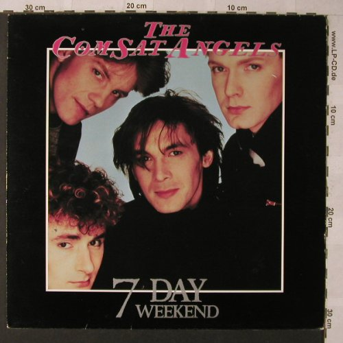 Comsat Angels: 7 Day Weekend, Jive(6.26177 AP), D, 1985 - LP - F931 - 5,00 Euro