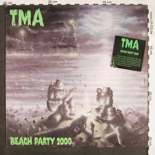 TMA: Beach Party 2000, Jimboco Rec.(JLP 8701), US, 1987 - LP - F9529 - 9,00 Euro
