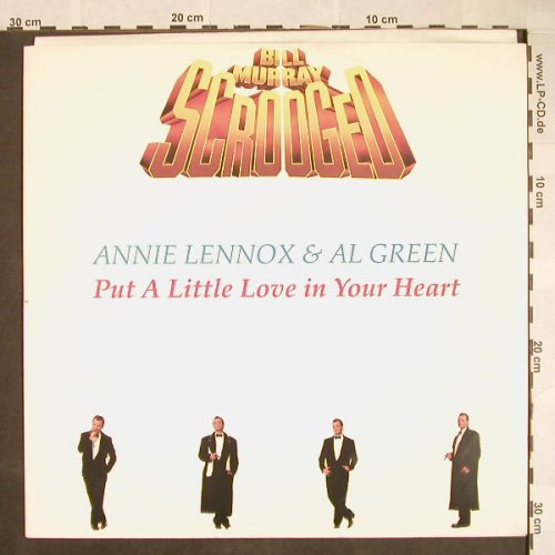 Lennox,Annie & Al Green: Put A Little Love In Your Heart*3, AM(390 382-1), D, 1988 - 12inch - F9838 - 2,50 Euro